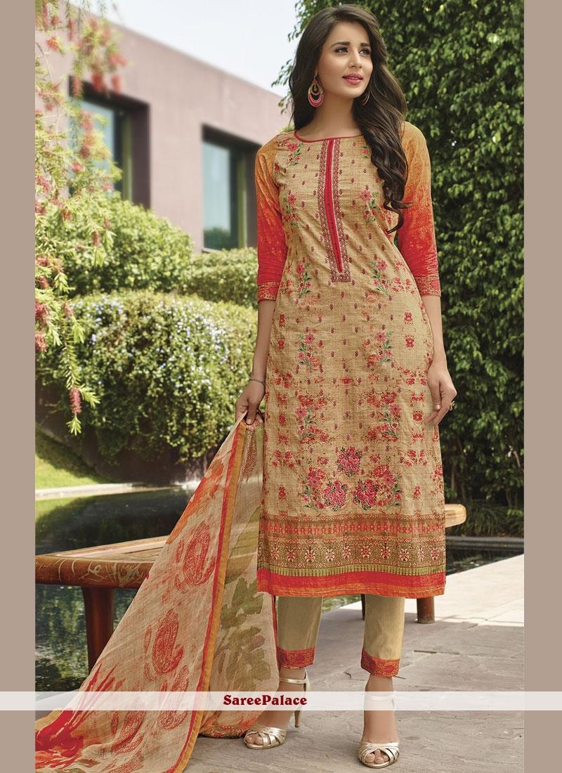 d15bbdeb11 Buy Cotton Lawn Embroidered Multi Colour Designer Pakistani Suit Online