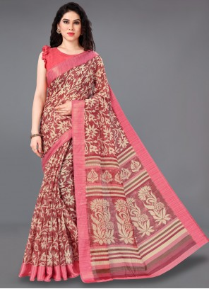 Cotton Multi Colour Classic Saree