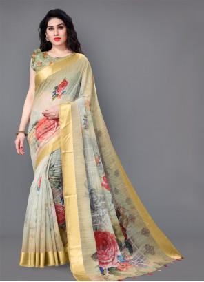 Cotton Multi Colour Classic Saree