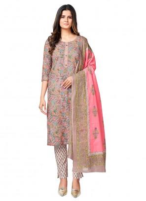 Cotton Multi Colour Readymade Suit