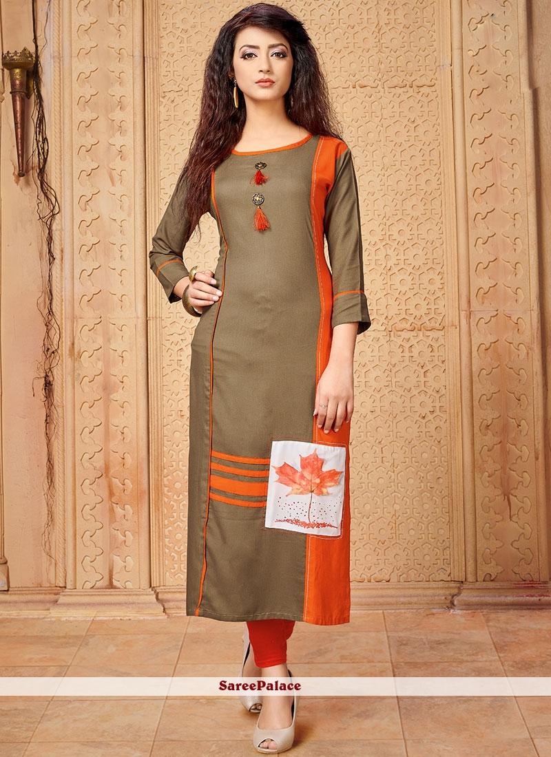c7fef85a06 Buy Cotton Party Designer Kurti Online