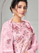 Cotton Pink Designer Pakistani Salwar Suit