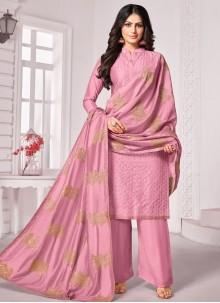 Cotton Pink Trendy Salwar Kameez