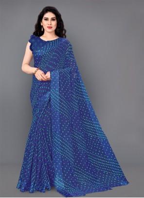 Cotton Print Classic Saree