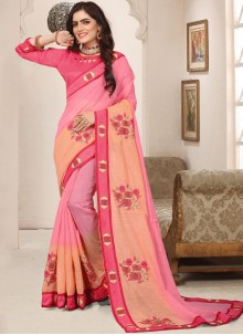 Cotton Silk Party Trendy Saree