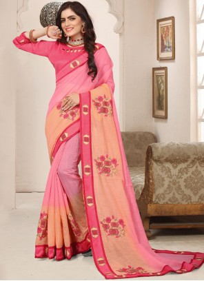 Cotton Silk Party Trendy Saree