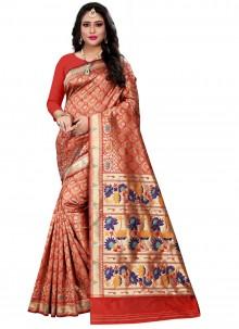 Cotton Silk Weaving Classic Saree