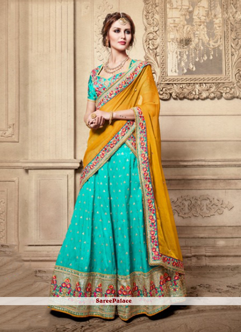 Buy Cute Lehenga Choli For Reception Online