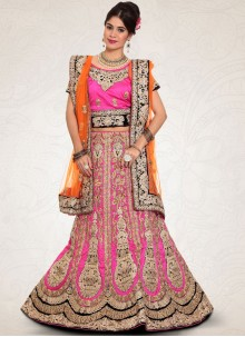 Dainty Art Silk Zari Work Lehenga Choli