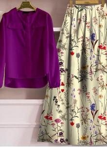 Purple Designer Lehenga Choli For Festival