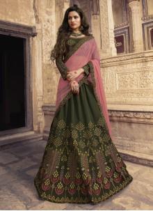 Designer Lehenga Choli For Mehndi