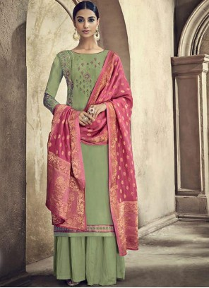 Designer Palazzo Suit For Ceremonial