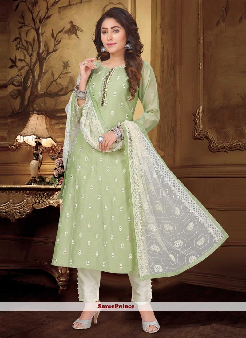 Green Designer Suit For Engagement