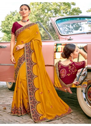 Designer Traditional Saree For Festival