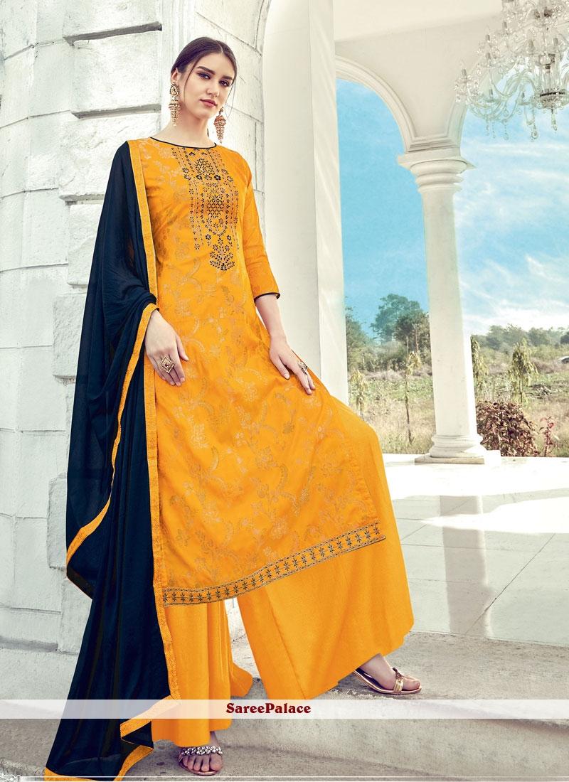 Diamond Designer Palazzo Salwar Suit