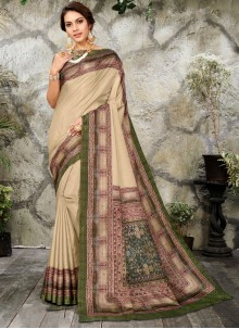 Digital Print Classic Saree
