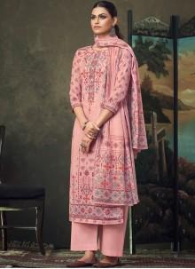 Digital Print Festival Trendy Palazzo Salwar Suit