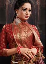 Digital Print Multi Colour Designer Saree