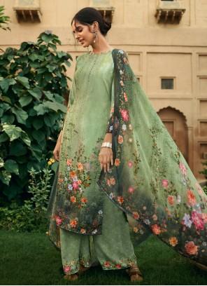 Digital Print Party Salwar Suit