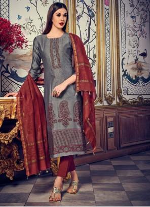 Digital Print Wedding Designer Salwar Kameez