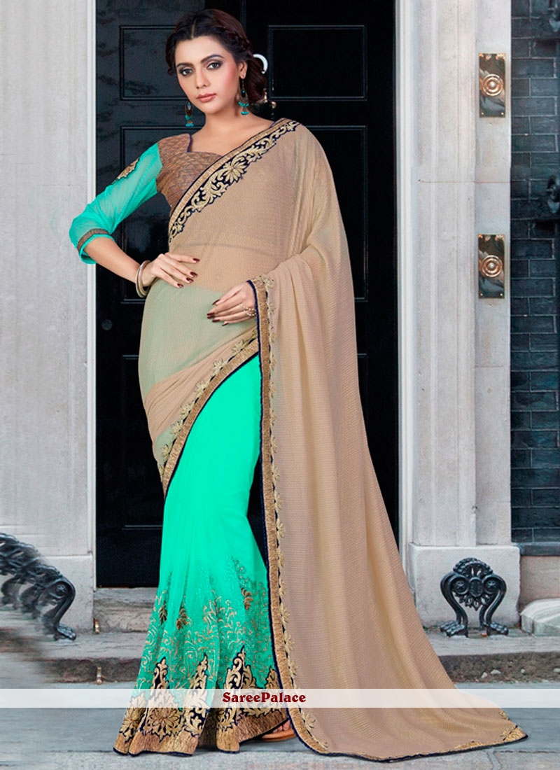 Distinctively Zari Work Classic Designer Saree