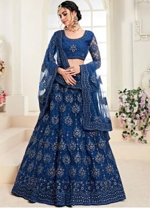 Embroidered Bridal Trendy A Line Lehenga Choli