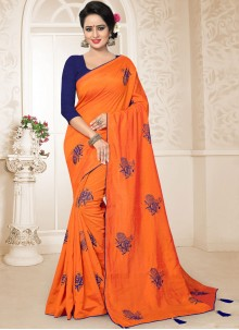 Embroidered Ceremonial Designer Traditional Saree
