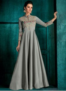 Embroidered Ceremonial Desinger Anarkali Suit