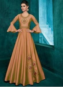 Embroidered Ceremonial Trendy Anarkali Salwar Suit
