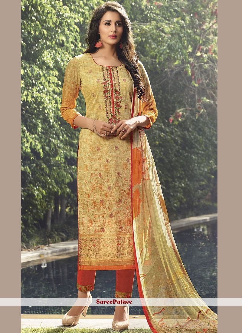 28e5eb7bfb Buy Embroidered Cotton Lawn Designer Pakistani Suit Online