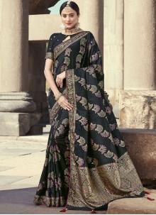 Embroidered Designer Traditional Saree