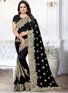 Embroidered Festival Traditional Saree