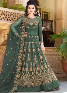 Embroidered Net Designer Lehenga Choli