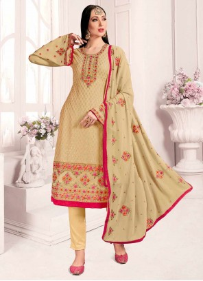 Embroidered Party Designer Suit