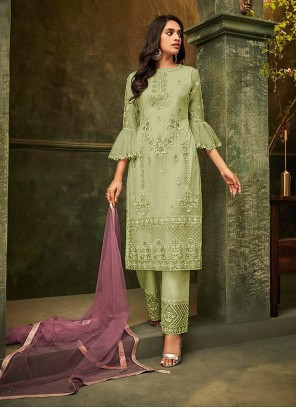Embroidered Party Salwar Kameez