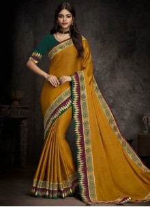 Embroidered Party Traditional Designer Saree