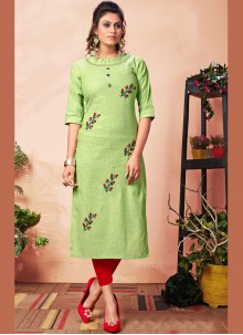 Embroidered Party Wear Kurti