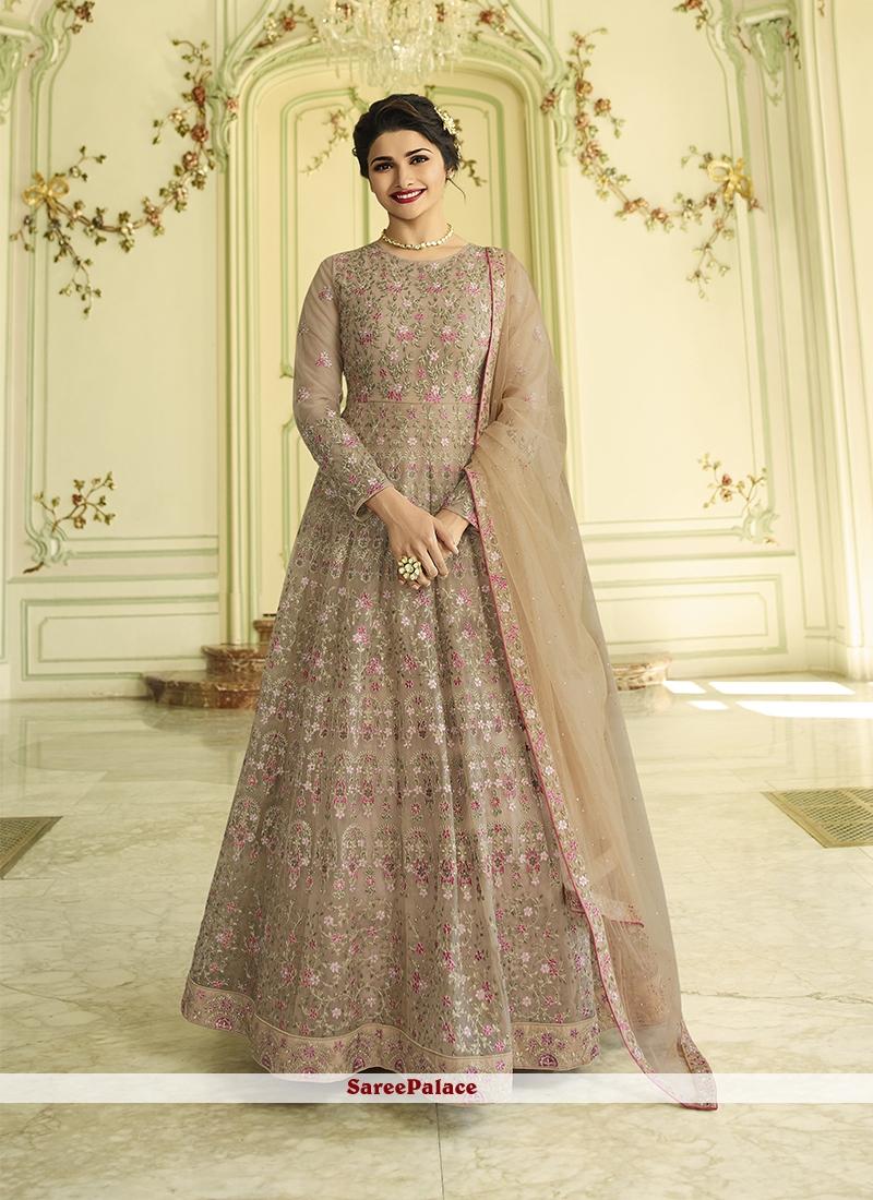 e96fbd8ecd Buy Embroidered Prachi Desai Floor Length Anarkali Suit Online