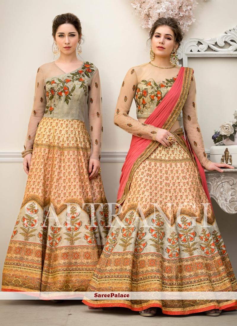 Embroidered Reception Designer Gown