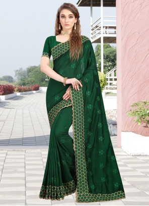 Embroidered Wedding Designer Contemporary Saree