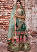 Embroidered Wedding Lehenga Choli