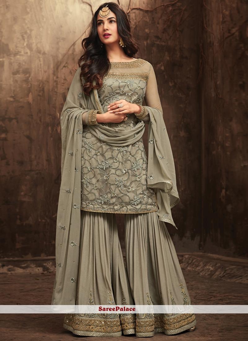 Embroidered Work Designer Pakistani Suit