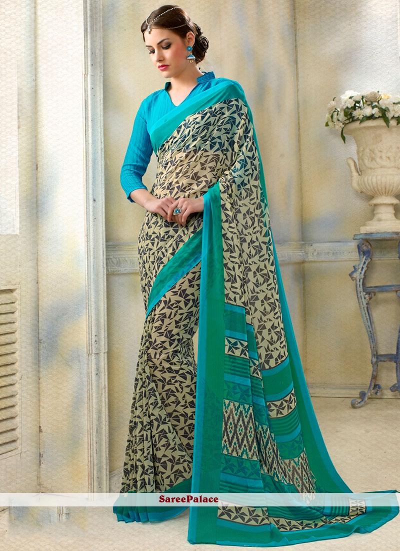 Especial Multi Colour Printed Saree