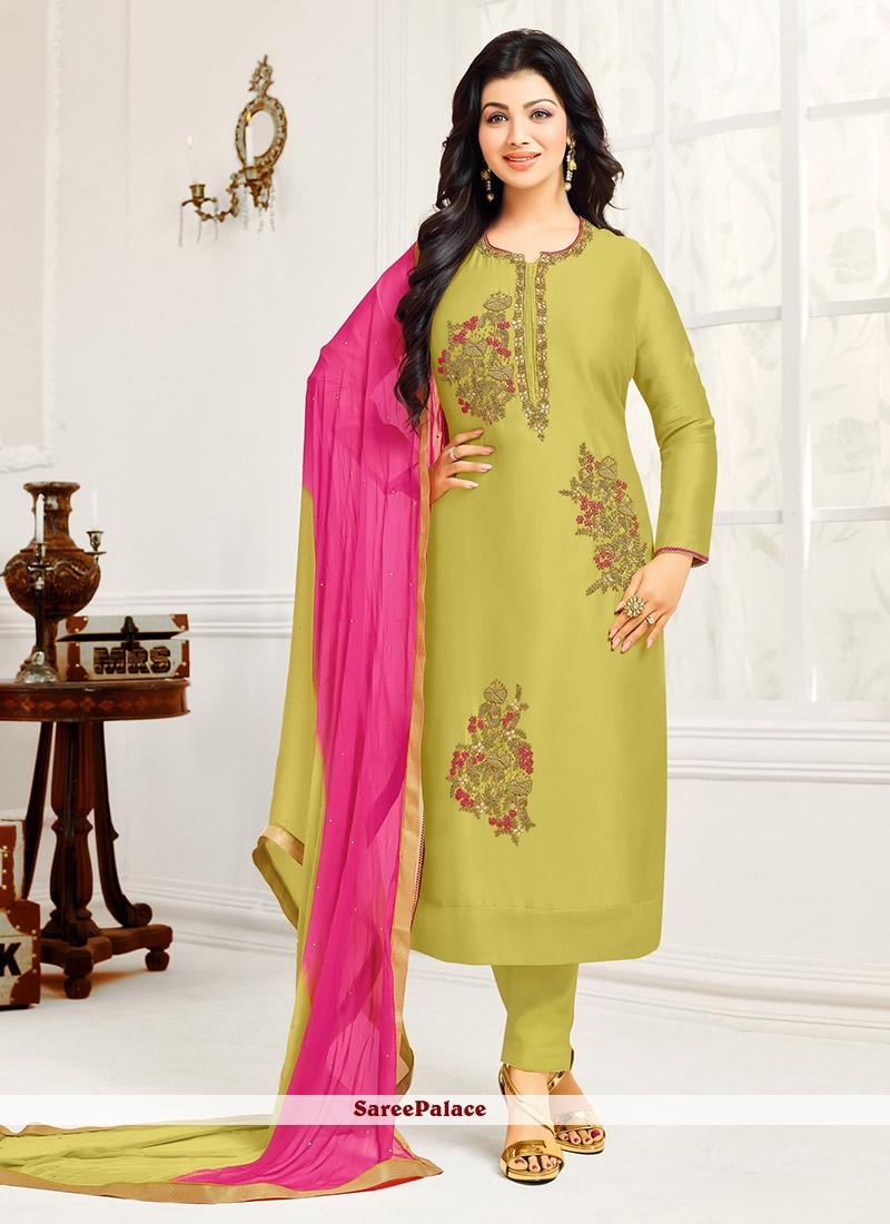 8140177b59d1e Buy Especial Pink Pure Chiffon Salwar Kameez Online
