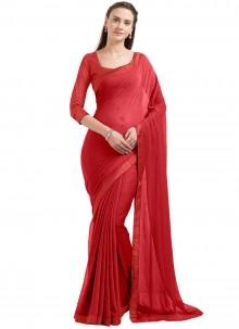Especial Red Casual Saree