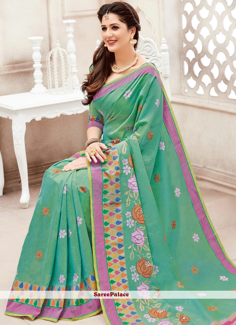 Excellent Chanderi Cotton Classic Saree