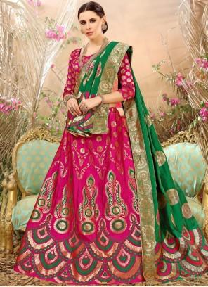 Excellent Weaving Work Lehenga Choli