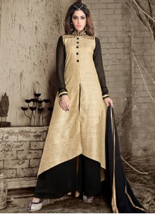 Exotic Lace Work Designer Palazzo Suit