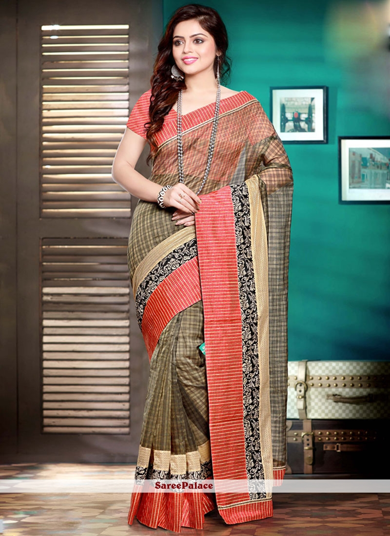 Exquisite Multi Colour Saree