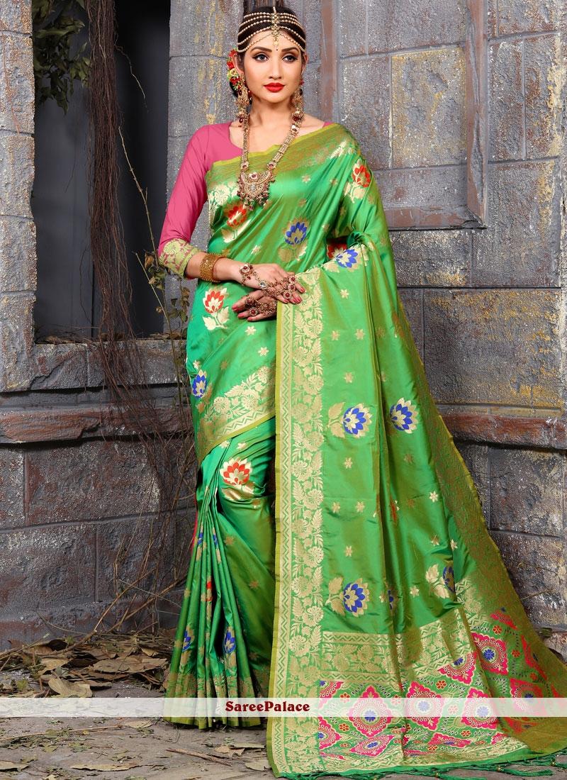 Fab Art Silk Traditional Designer Saree